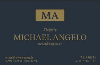 Galerie & Kunst-Visitenkarte made by