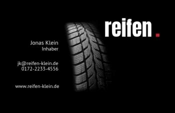 Reifen-Visitenkarte Dot