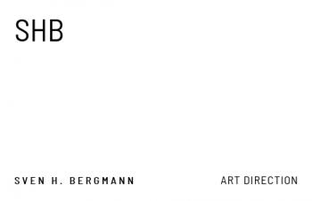 Werbung & Design-Visitenkarte Initials