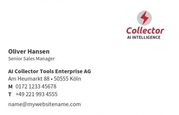 Unternehmensberater-Visitenkarte Corporate Version-3
