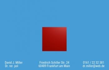 Private Visitenkarten-Visitenkarte Art Version-2