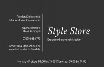 Start-Visitenkarte Shop Here Version-1