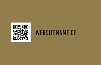Pizza-Service-Visitenkarte QR Style Version-2