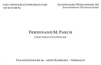 Firmen Visitenkarten-Visitenkarte CEO Version-3