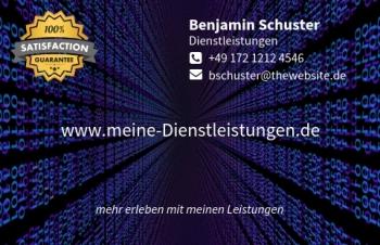 Reifen-Visitenkarte Label Version-5
