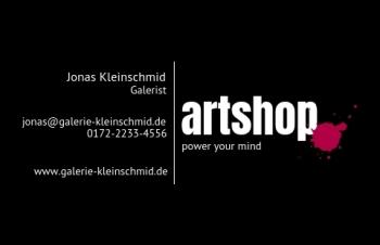 Galerie & Kunst-Visitenkarte Dot