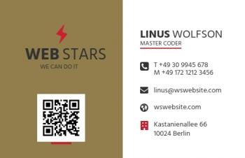 Beratung-Visitenkarte QR Style Version-1