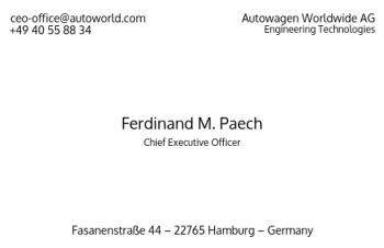 Firmen Visitenkarten-Visitenkarte CEO Version-9