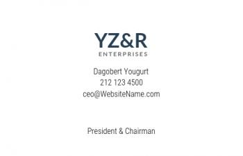 Werbung & Design-Visitenkarte Corporate Version-2