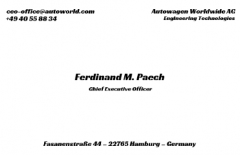 Firmen Visitenkarten-Visitenkarte CEO Version-5