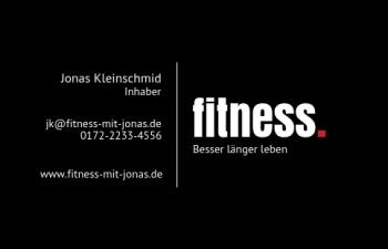 Sport/Fitness-Visitenkarte Dot