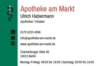 Heilpraktiker-Visitenkarte Modern