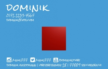 IT & Software-Visitenkarte Social Me Version-2
