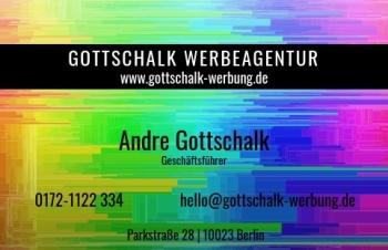 Werbung & Design-Visitenkarte Stripe