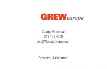 Werbung & Design-Visitenkarte Corporate Version-1