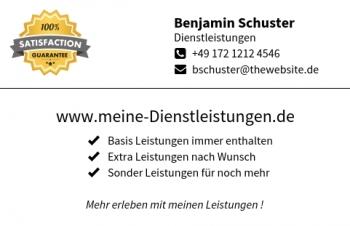 Reifen-Visitenkarte Label Version-3