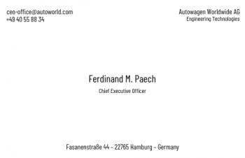 Firmen Visitenkarten-Visitenkarte CEO Version-4