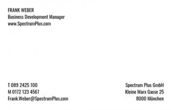Arzt-Visitenkarte Brand Type Version-6