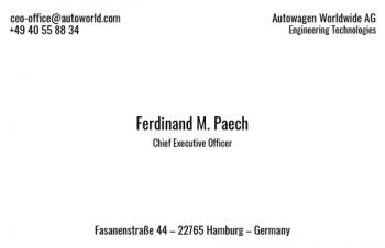 Firmen Visitenkarten-Visitenkarte CEO Version-8