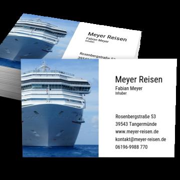 Reisebüro-Visitenkarte Picture