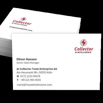 Unternehmensberater-Visitenkarte Corporate