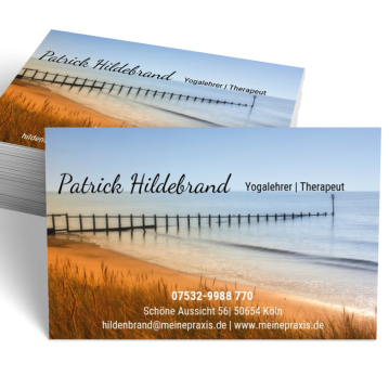 Gesundheit-Visitenkarte Picture