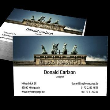 Werbung & Design-Visitenkarte Berlin