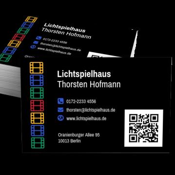 Freizeit/Reise-Visitenkarte Modern