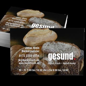 Bäcker & Konditor-Visitenkarte Dot