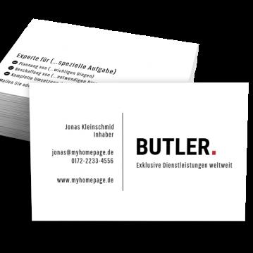 Branchen-Visitenkarte Dot
