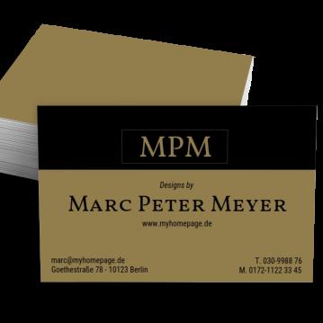 Parfümerie-Visitenkarte made by