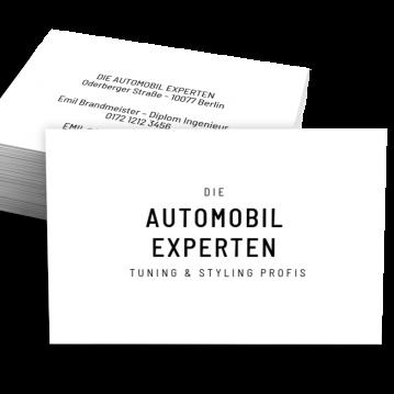 Reifen-Visitenkarte Experts