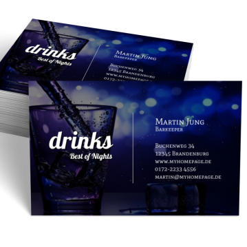 Visitenkarten Sind Die Beste Werbung Für Bar Club