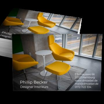 Möbel-Visitenkarte Picture