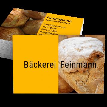 Bäcker & Konditor-Visitenkarte Split