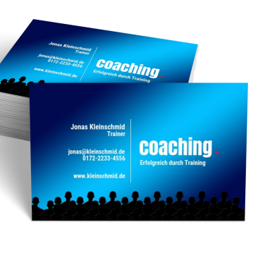Ausbildung & Training-Visitenkarte Dot
