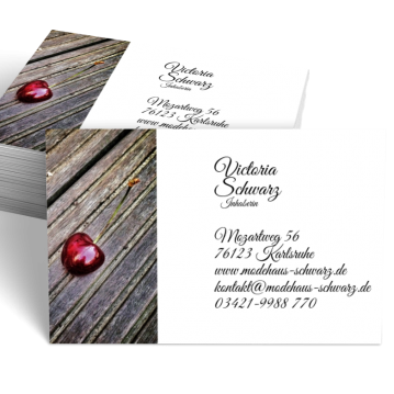 Obst & Gemüse-Visitenkarte Picture