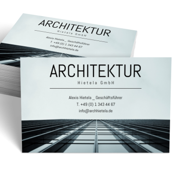 Architekt-Visitenkarte Picture