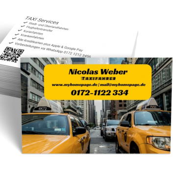 Taxi-Visitenkarte Picture