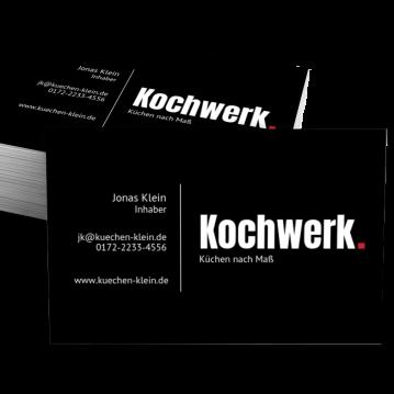 Visitenkarten sind die beste Werbung für Küchenhändler & Küchenstudio | {Küchenstudio werbung 48}