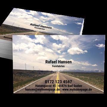 Private Visitenkarten-Visitenkarte Picture