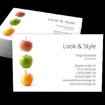 Werbung & Design-Visitenkarte Picture
