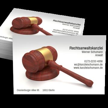 Rechtsanwalt-Visitenkarte Picture