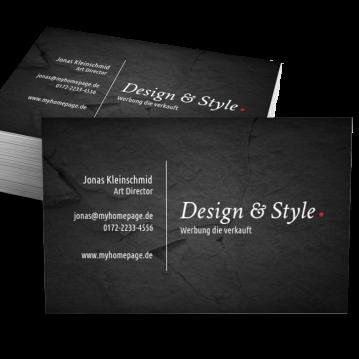 Werbung & Design-Visitenkarte Dot