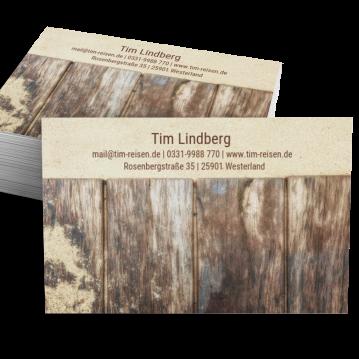 Schreiner-Visitenkarte Picture