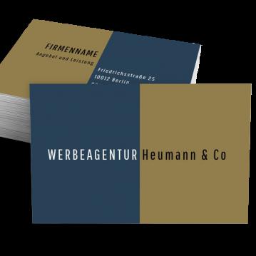 Werbung & Design-Visitenkarte Split