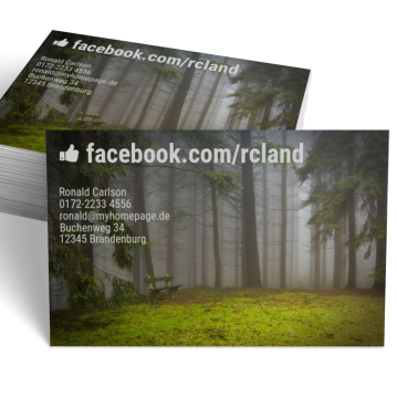 -Visitenkarte Forest